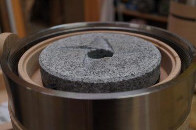 Granite millstone of the Salzburg flour mill MT 18