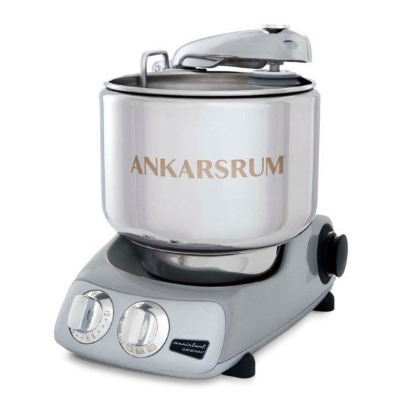 Ankarsrum Assistent Original + 7-teiligen Deluxe Package - Jubilee Silver