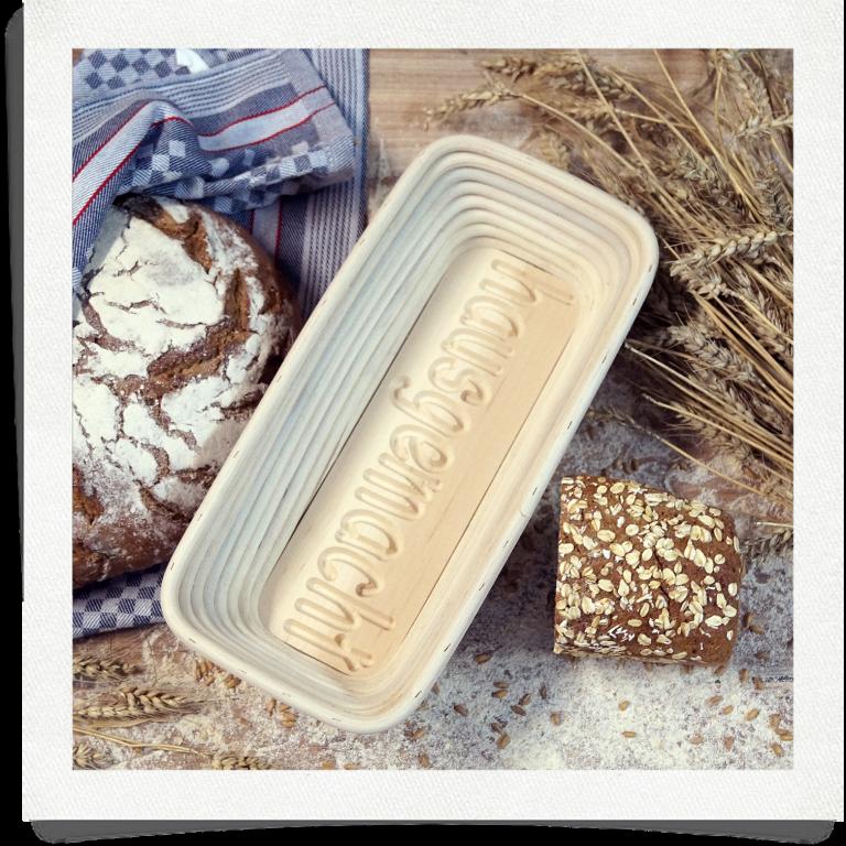 Brotform Hausgemacht - 1 kg länglich