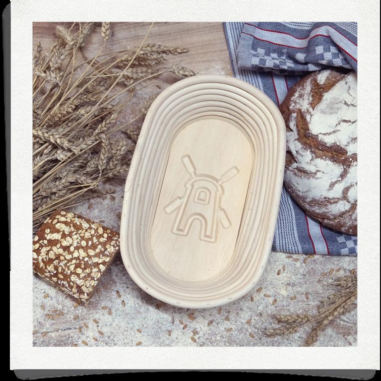 Brotform Mühle - 1 kg oval