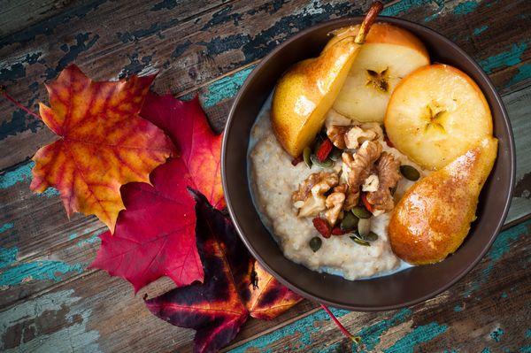 Stärkendes Herbstporridge