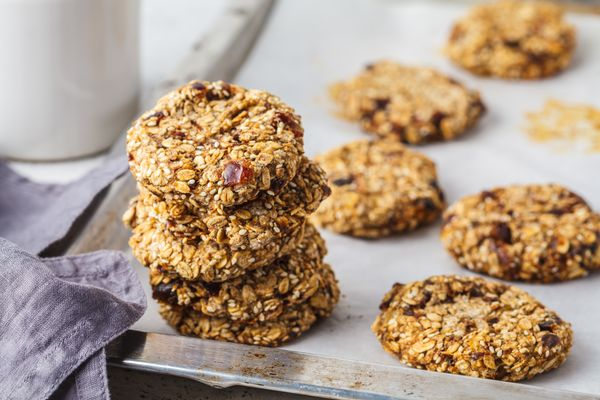 Köstliche Kekse mit Haferkleie