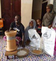 Salzburger Gewerbemühle MT 18 in einer Schule in Somalia