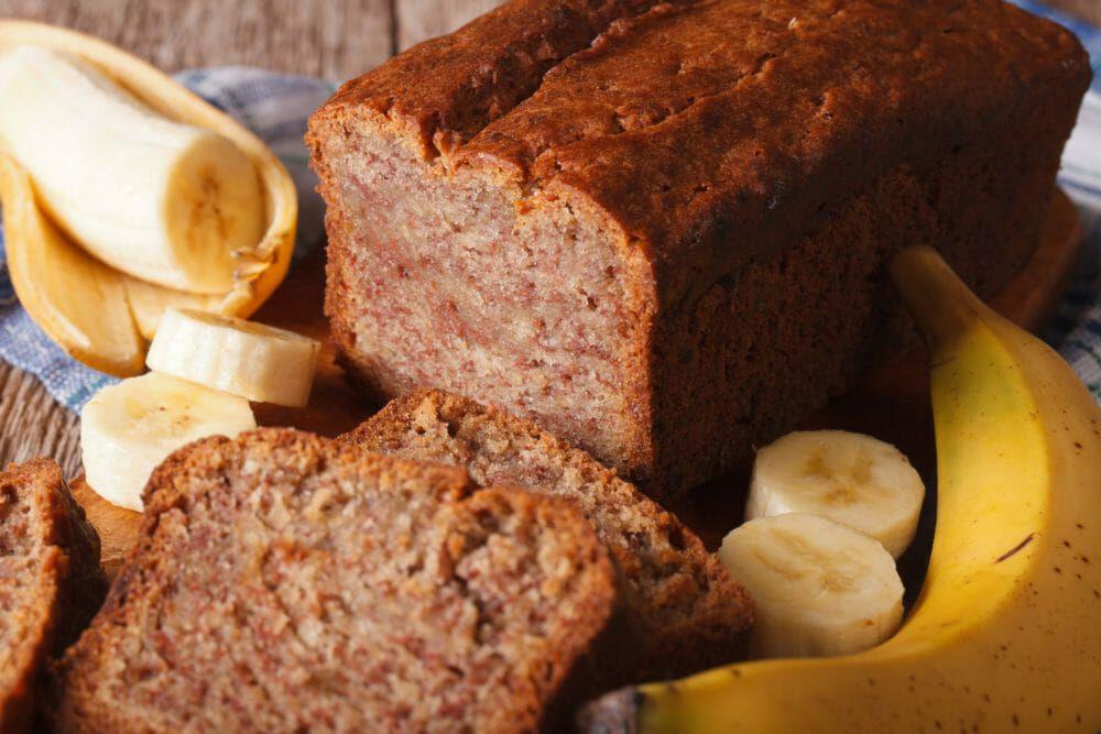 Bananenbrot – saftig und vegan