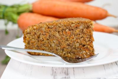 Karottenkuchen – saftig und vegan