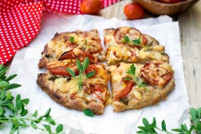 Berti's selbstgemachte Winterpizza